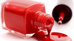 Than to dilute thickened nail Polish