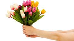 Как следует принимать поздравления
