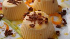 Как приготовить мороженое из мандаринов