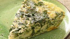 Как приготовить омлет со шпинатом в мультиварке