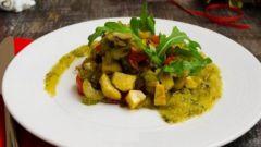 Как приготовить овощное соте с каштанами