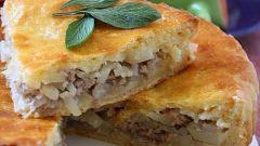 Рецепт слоеного пирога с мясом