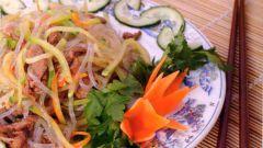 Как приготовить фунчозу по-дунгански
