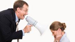 Как ответить на оскорбление со стороны босса?