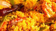 Как приготовить испанскую паэлью с морепродуктами