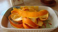 Лимонад из апельсиновых корочек