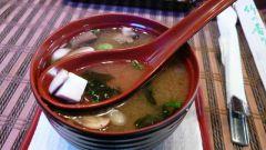 Мисо-суп с вешенками