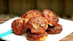 Итальянская закуска: мини-пицца