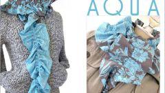 Как сшить стильный шарфик