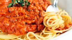 Как сделать спагетти болоньезе