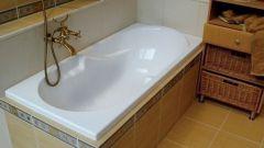 Простой способ сделать ванну белоснежной