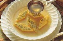 Как приготовить бульон с омлетом