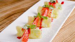 Роллы из ананаса