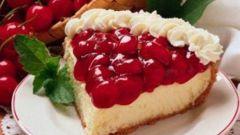 Быстрый творожно-ягодный пирог
