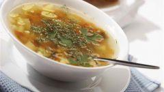 Суп – постный рассольник