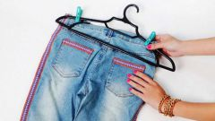 How to wash paint denim pants