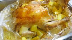 Чего бы приготовить из курицы и картошки в рукаве