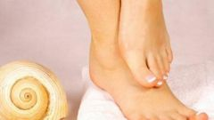 What to do if the foot rash, which causes itching