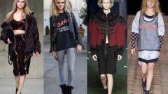 Какие стили одежды были в 90-х гг.