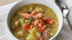 Как сварить суп из горбуши