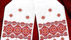 На какой ткани выполняется вышивка