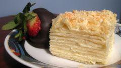 Как приготовить пирожное «наполеон»