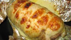 Рецепт рулета из куриной грудки