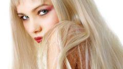 Как покраситься в платиновый блондин