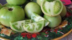 Рецепт бочковых зеленых помидор