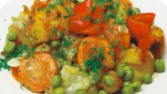 Как приготовить рагу овощное из кабачков, картофеля и помидоров