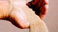 Какие свойства песка