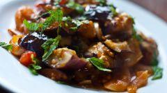 Рецепт баклажанов с чесноком на зиму