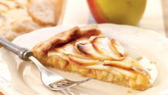 As from fresh apples to make a delicious filling for pie
