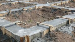 How to properly pour the Foundation for one-storey house