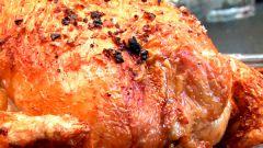 Как запечь фаршированную курицу