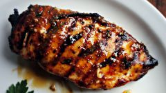 Куриная грудка в клюквенном соусе