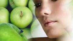 Тонизирующие маски для лица с яблоком
