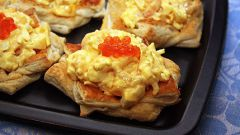 Как приготовить салат с креветками в тарталетках