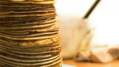 Как нужно печь блины