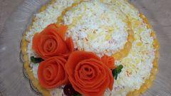 Как сделать розу из моркови