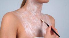 Маски освежающие для шеи с молоком