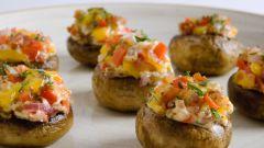 Как приготовить грибы в духовке