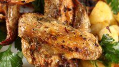 Куриные крылышки в медовом соусе в мультиварке