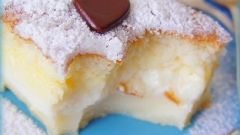 Пирожные с кремом