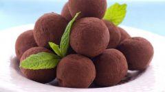 Как приготовить шоколадные трюфели с коньяком