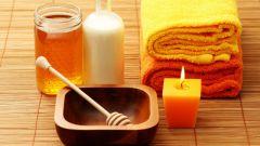 Обертывание для тела с медом, молоком и солью