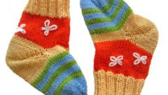 Как сделать кошелек из детского носочка