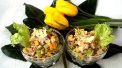 Экзотический салат «Надо попробовать»
