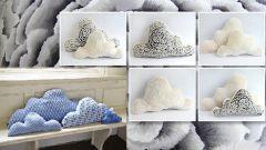 Как сшить подушку-облако