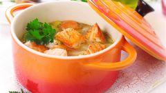 Как приготовить вкусный суп из семги